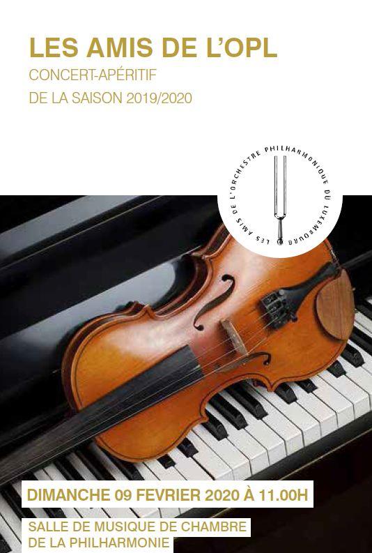 programme concert 09.02.2020
