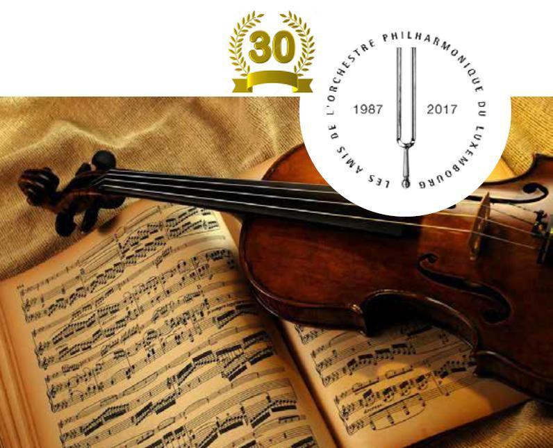 30e anniversaire des Amis de l'OPL