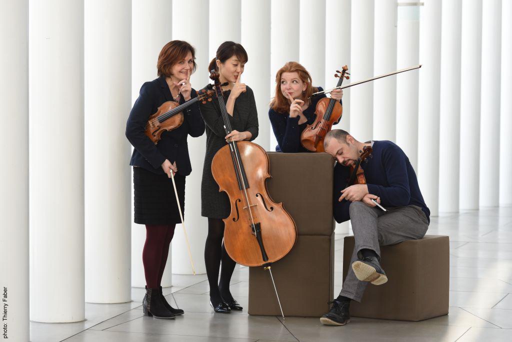 Quatuor Henri Pensis concert on 02 october 2016