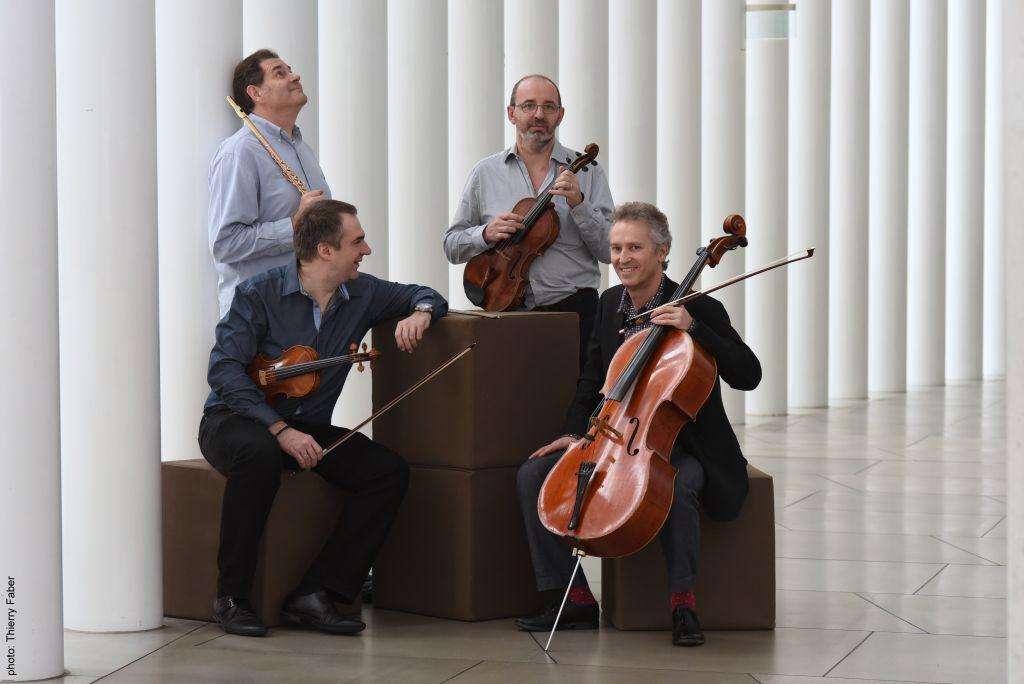 Concert-apéritif; Amis de l'OPL; Étienne Plasman; Attila Keresztesi; Jean-Marc Apap; Vincent Gérin