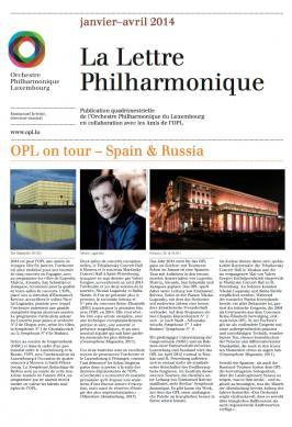 La Lettre Philharmonique 01-04 2014