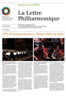 La Lettre Philharmonique 01-04 2015